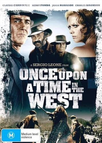 Once Upon A Time In The West - DVD Region 4 Free Shipping!
