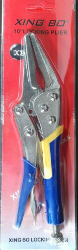 """LOCK GRIP PLIERS VICE GRIPS DROP FORGED 7/"""" 180mm  FAMOUS TOLEDO QUALITY"""