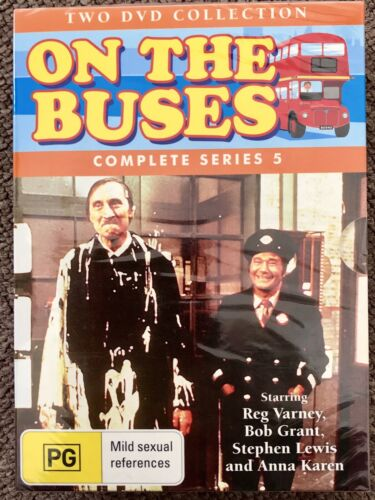 ON THE BUSES Complete Series 5 DVD ~ 2 DISCS NEW & SEALED DVD Region: ALL PAL
