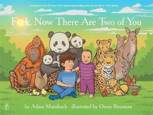 F**k, Now There Are Two of You by Adam Mansbach Hardcover Book Free Shipping!