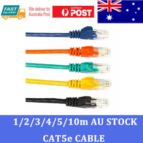 Cat5e RJ45 LAN Ethernet Internet Cable 100Mbps  1M 1.5M 2M 3M 4M 5M 10M