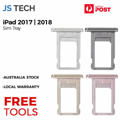 New Sim Tray Replacement for iPad 2017 2018 iPad 5 6 with Free Tools