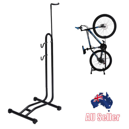 Bicycle Steel Bike Stand Holder Floor Parking Rack Storage Stand Bicycle Support