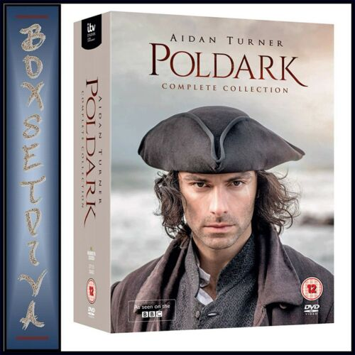 POLDARK COMPLETE COLLECTION - SERIES 1 2 3 4 5 BBC SERIES *BRAND NEW DVD BOXSET
