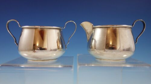 Pointed Antique by Reed Barton D&H Sterling Silver Sugar Creamer 2pc (#2377)