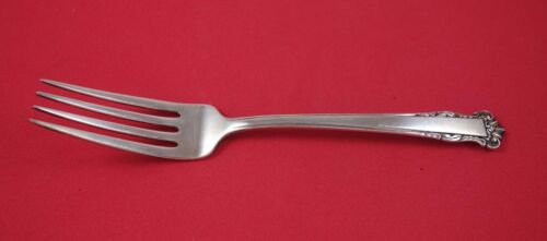 "English Shell by Lunt Sterling Silver Dinner Fork 7 1/2"" Flatware"