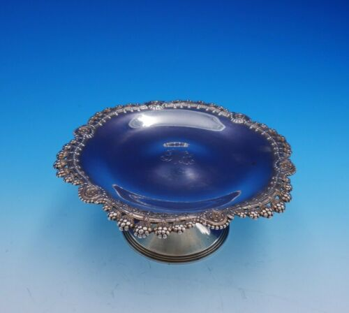 """Blackberry by Tiffany and Co Sterling Silver Compote """"GMH"""" #13964/6052 (#0310)"""