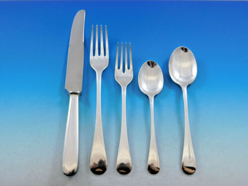 Mayfair by Buccellati Italy Silverplated Flatware Set Service 30 pcs Dinner