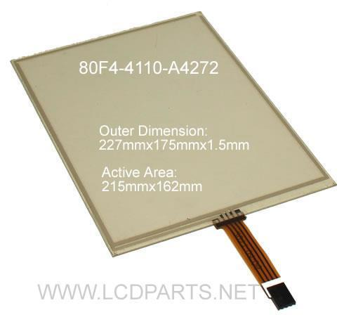 New Replacement Touchscreen, 80F4-4110-A4272