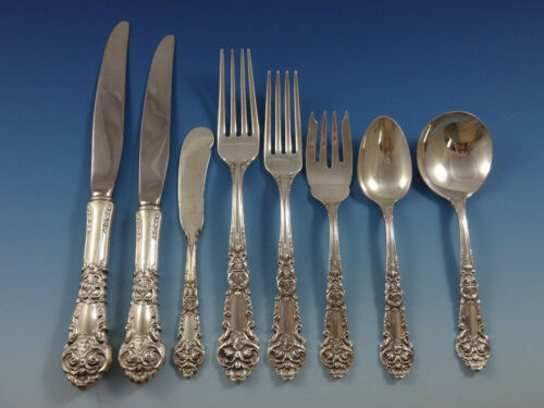 French Renaissance by Reed & Barton Sterling Silver Flatware Dinner Set Huge