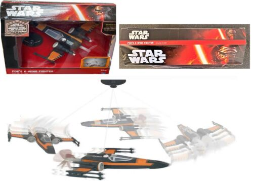 Star Wars Poe X-Wing Fighter Ceiling Flyer Toy Jet Ages 4+ Plane Play Race Car