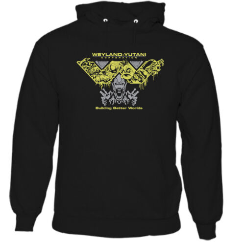 ALIEN HOODIE Mens Weyland Yutani Nostromo Movie Covenant Prometheus Unisex TOP