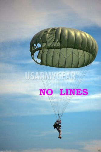MC1 Military Parachute 35' Canopy with Cut Lines Wedding Yard Party Cover FabricParachutes - 70990