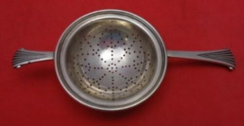 "Onslow by Tuttle Sterling Silver Tea Strainer 6 1/2"" Unusual"