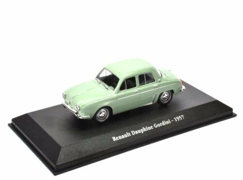 Renault Dauphine Gordini 1957 - 1/43 Atlas Voiture miniature Model car G006