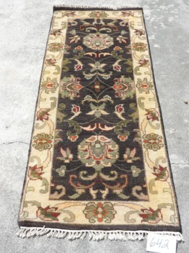 3x6ft. Handwoven Wool Runner from India