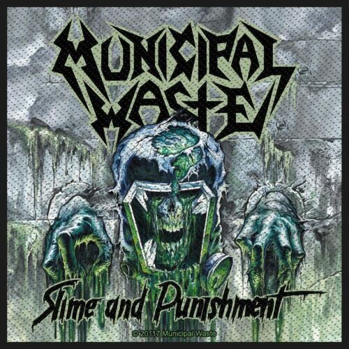 Municipal Waste Slime & Punishment Patch Thrash Metal Official