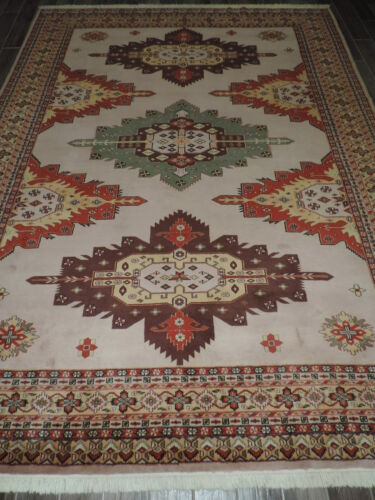 8x12ft. Handmade Pakistani Shirvan Wool Room Size Rug