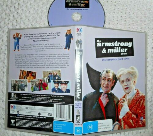 The Armstrong & Miller Show. complete third series. (registered post)