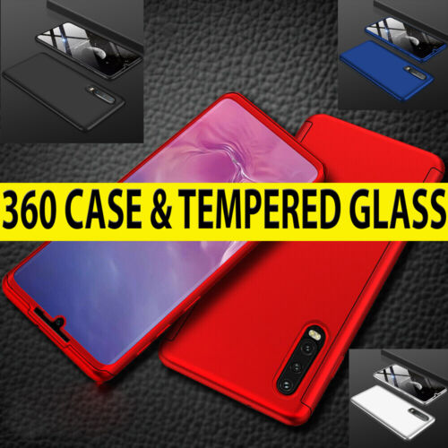 360 Case For Huawei P30 Pro Ultra Thin Shockproof Hybrid Full Body Hard Cover