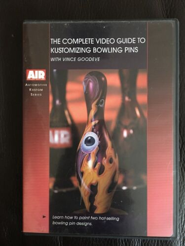 Complete Video Guide to Kustomizing Bowling Pins (DVD) With Vince Goodeve