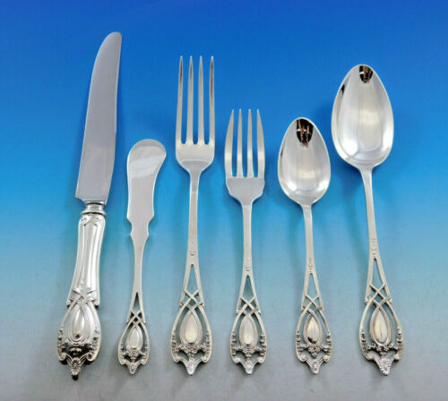 Monticello by Lunt Sterling Silver Flatware Set for 8 Service 52 pieces