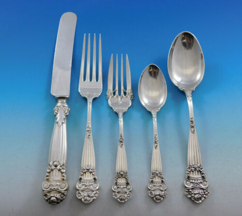 Georgian by Towle Sterling Silver Flatware Set Service 30 pieces Vintage