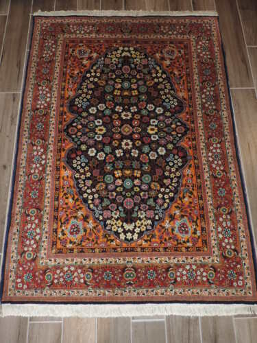 4x6ft. Handmade Turkish Hereke Wool Rug