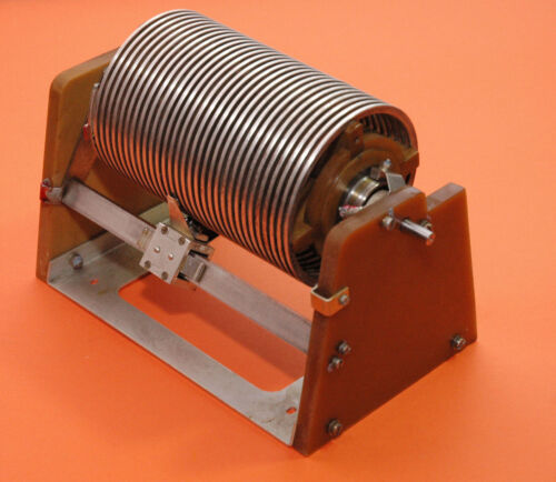 Variable Roller Inductor Coil-Giant-HF Linear Power Amplifier-Antenna Tuner