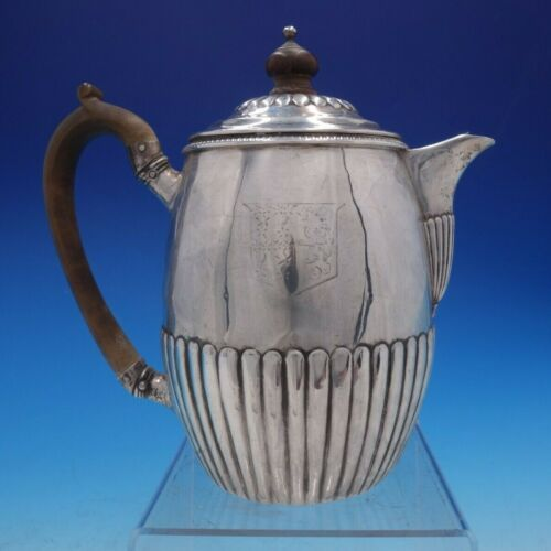 Thomas & Joseph Guest & Joseph Craddock Georgian English Silver Tea Pot (#4250)