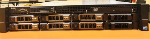 Dell Poweredge R510 , 2x2.4 six core processors