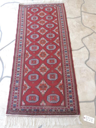 2x6ft. Handmade Afghan Tribal Kilim Wool Runner
