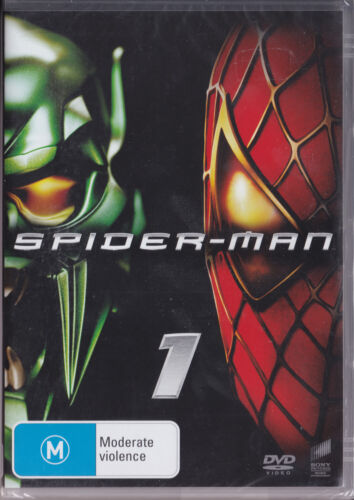 Spider-Man 1 (DVD) Region 2 and 4  NEW SEALED
