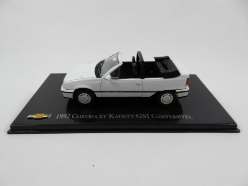 Chevrolet Kadett GSI Cabriolet - 1:43 Voiture Diecast Car General Motors CH66