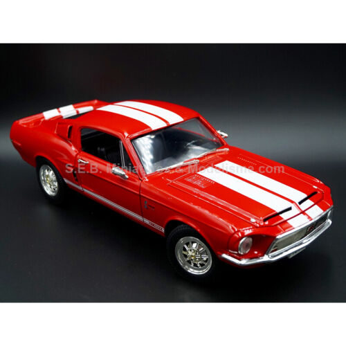 FORD SHELBY GT 500 KR 1968 ROUGE 1:18 LUCKY DIE CAST
