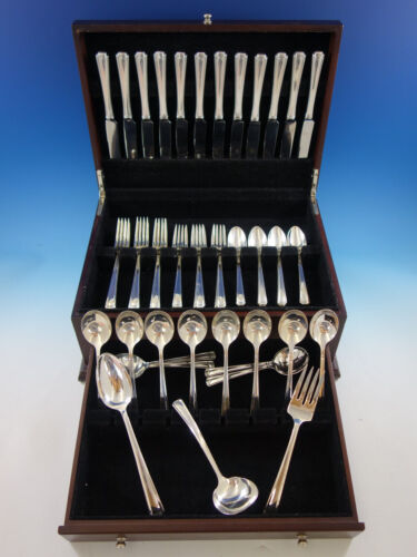 John and Priscilla by Westmorland Sterling Silver Flatware Set Service 63 pieces