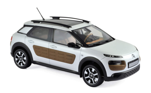 Citroën C4 Cactus 2014 Pearl White - 1:18 Norev Voiture Model Car 181651