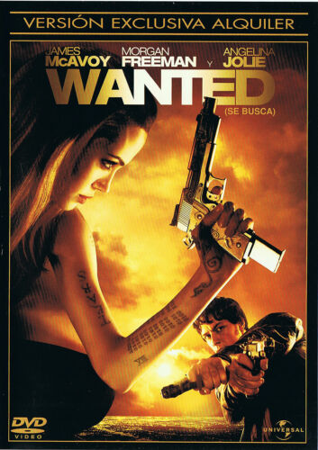 Wanted (se busca). DVD