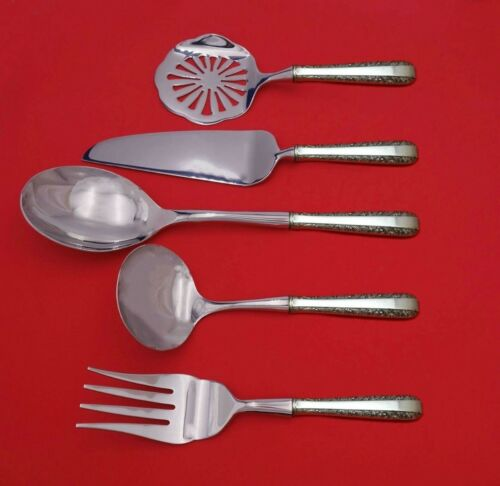 Candlelight by Towle Sterling Silver Thanksgiving Serving Set 5-pc Custom Made