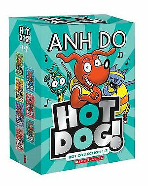 NEW Hotdog! 5 Books Set Hot Bundle Collection 1-5 Best-Selling Anh Do Kids Gift!