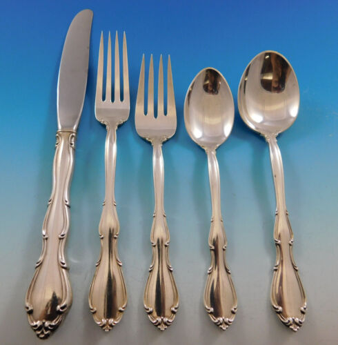 Fontana by Towle Sterling Silver Flatware Service for 8 Set 40 pieces