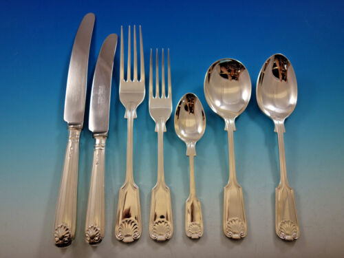 Fiddle Thread & Shell by United Cutlers Sterling Silver Flatware Set Service
