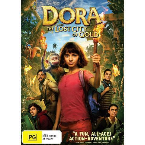 Dora and the Lost City of Gold (DVD, 2019)