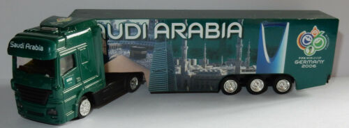 GRELL HO 1/87 CAMION SCANIA FIFA WORLD CUP GERMANY 2006 FOOTBALL SAUDI ARABIA