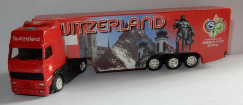 GRELL HO 1/87 CAMION VOLVO FH FIFA WORLD CUP GERMANY 2006 FOOTBALL SWITZERLAND