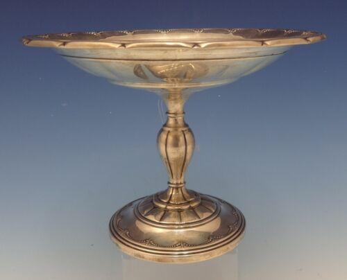 """Old Colonial by Towle Sterling Silver Compote Raised 7 1/2"""" #15222 (#0492)"""