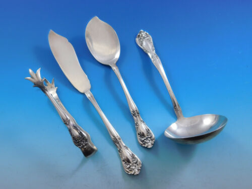 Chateau Rose by Alvin Sterling Silver Essential Serving Set Small Hostess 4piece