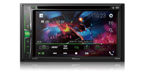 """NEW Pioneer Double 2 Din AVH-220EX DVD/MP3/CD Player 6.2"""" Touchscreen Bluetooth <br/> iPod iPhone Control , Android Music - 1 YEAR WARRANTY"""