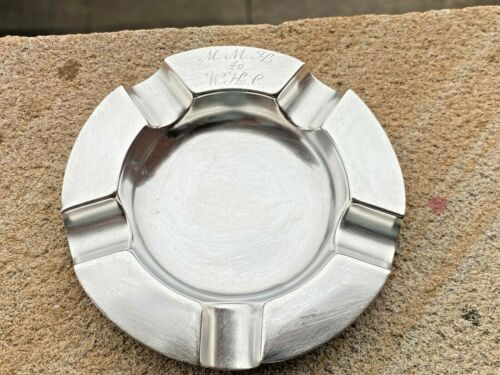 Sterling Silver Ashtray - Charles & Richard Comyns - London - 1919