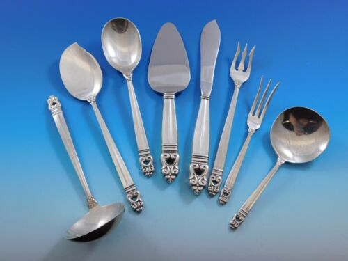 Royal Danish by International Sterling Silver Essential Serving Set Small 8-pc